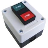 Выключатель 2х-кнопочный, накладной, кнопки Старт (Н.О.) - Стоп (Н.З.). BFT SPC