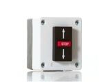 Выключатель 3х-кнопочный, накладной, кнопки Верх (Н.О.) - Стоп (Н.З.) - Вниз (Н.О.). BFT SPC3