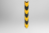 Демпфер угловой резиновый круглый ДКУ-20