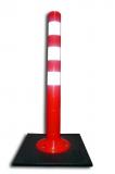 Столбик гибкий 750мм, 3 полосы