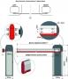 купить автоматический шлагбаум an-motors asb6000 (стрела 5,3 метра)