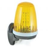Сигнальная лампа универсальная (диапазон применения: 12-24В пост/перем ток, 85- 265В перем ток) со встроенной антеной и кронштейном крепления AN-MOTORS F5000