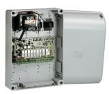 Блок управления для одного привода с питанием двигателя 24В. Выход 2-го радиоканала, возможность подключения электрозамка CAME 002ZL170N