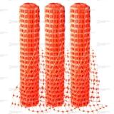 Сетка пластиковая оградительная. Ячейка 40х45мм. Барьер А-45, рулон 1,3мх25м