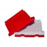 Блок водоналивной красный, белый ВКЛАДЫВАЮЩИЙСЯ Разделительный дорожный 1,5м