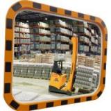 Индустриальное зеркало прямоугольное 400х600 мм