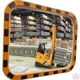 Индустриальное зеркало прямоугольное 800х1000 мм