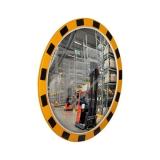 Индустриальное зеркало круглое 600 мм