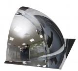 Зеркало для помещений купольное четверть сферы 600 мм Зеркало 600 мм