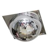 Зеркало купольное для подвесного потолка 600 мм Армстронг