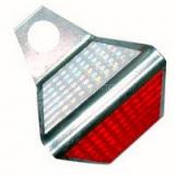 Светоотражатель дорожный ГОСТ Р 50971-2011 КД-5 металл оцинковка 3мм