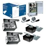 Комплект для автоматизации распашных ворот с высокой интенсивностью эксплуатации CAME FROG24