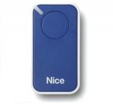 Пульт управления 1-канальный, цвет синий NICE INTI1B