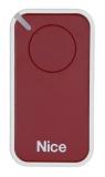 Пульт управления 1-канальный, цвет бордовый NICE INTI1R