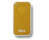 Пульт управления 1-канальный, цвет желтый NICE INTI1Y