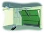 купить привод 24в потолочный для секционных ворот до 10 м2 came 001v900e