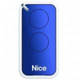 Пульт управления 2-канальный, цвет синий NICE INTI2B