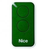Пульт управления 2-канальный, цвет зеленый NICE INTI2G