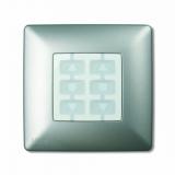 Корпус Opla, квадратный алюминий NICE WSA