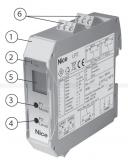 Индукционный датчик, 2-канальный NICE LP2