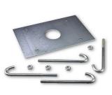 Анкерная пластина с крепежом для LBAR NICE XBA17