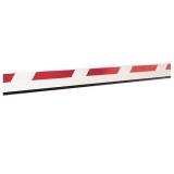 Стрела прямоугольная со светоотражающими наклейками, 50х100х7000мм FAAC 428064