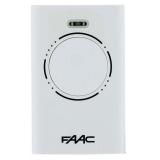 Брелок-передатчик XT4 868 SLH LR 868 МГц 4-канальный SLH код, функция MASTER-SLAVE, белого цвета - комплект 100 шт FAAC 787010/100