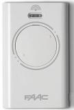 Брелок-передатчик XT2 433 SLH LR 433 МГц 2-канальный SLH код, функция MASTER-SLAVE, белого цвета - - комплект 300 шт FAAC 787007