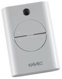 Брелок-передатчик XT4 433 RC 433 МГц 4-канальный RC код, белого цвета FAAC 787452