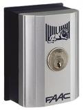 Ключ выключатель Т10 Е, комбинация №9 монтаж в стойку или на стену с одним микровыключателем FAAC 401019009