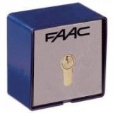 Цилиндр ЕВРО с персональным ключом, комбинации с 1 по 36, коды артикулов для заказа с 712052 по 712087 FAAC 7120xx