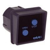 Панель управления FAAC SWITCH 2 кнопки, встраиваемая FAAC 401002