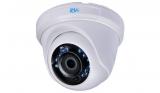 Купольная HD-TVI видеокамера с ИК подсветкой 720P+PAL RVI-HDC311B-AT (2.8 мм)