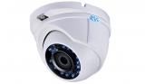 Купольная антивандальная HD-TVI видеокамера с ИК подсветкой 720P+PAL RVi-HDC311VB-AT (2.8 мм)