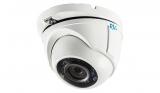 Купольная антивандальная HD-TVI видеокамера с ИК подсветкой 1080P RVi-HDC321VB-T (2.8 мм)