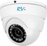 Купольная антивандальная HD-CVI видеокамера с ИК подсветкой 720Р RVi-HDC311VB-C (3.6 мм)