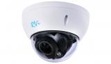 Купольная HD-CVI видеокамера с ИК подсветкой 720P RVi-HDC311-C (2.7-12 мм)
