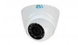 Купольная HD-CVI видеокамера с ИК подсветкой 720P RVi-HDC311B-C (3.6 мм)