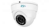 Купольная антивандальная HD-CVI видеокамера с ИК подсветкой 1080P RVi-HDC321VB-C (3.6 мм)