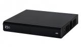4-х канальный трибридный HD-CVI видеорегистратор 1080P. RVi-HDR04LA-C