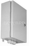 Электромонтажный шкаф с системой микроклимата от -40 до +50°С со встроенным 8-портовым коммутатором 10/100 Мбит/с, уличного исполнения IP54 Beward B-400x310x120-FSD8