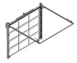 Секционные промышленные ворота STILTOR серии ПРОМ-панорама-1