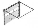 Секционные промышленные ворота STILTOR серии ПРОМ-панорама ЭКО