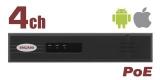 IP-видеорегистратор Beward BK0104-P4