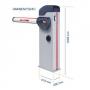 купить автоматический шлагбаум genius rainbow 524-3 kit, 3 м