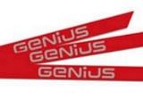 Комплект наклеек для стрелы Rainbow GENIUS 6100201