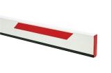 Стрела прямоугольная алюминиевая, 3 метра, с резиновым профилем и светоотражающими наклейками (для SPIN 3). Genius BEAM 3 (58P1802)