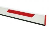 Стрела прямоугольная алюминиевая, 3 метра, с резиновым профилем и светоотражающими наклейками (для SPIN 3). Genius BEAM 3 (ЗИП)