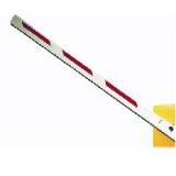 Стрела прямоугольная алюминиевая, 4 метра, с резиновым профилем и светоотражающими наклейками (для SPIN 4). Genius BEAM 4 (58P1803)