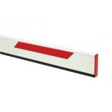 Стрела прямоугольная алюминиевая, 4 метра, с резиновым профилем и светоотражающими наклейками (для SPIN 4). Genius BEAM 4 (ЗИП)